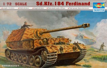Sd.Kfz. 184 Tiger Ferdinand · TRU 07205 ·  Trumpeter · 1:72