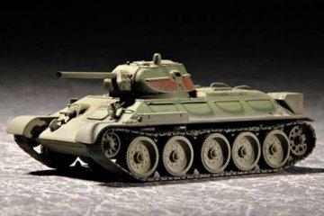 Russian T-34/76 Model 1942 · TRU 07206 ·  Trumpeter · 1:72