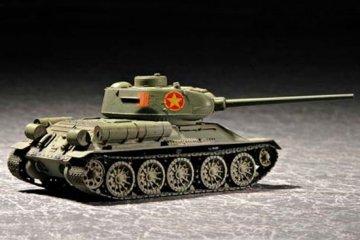 Soviet T-34/85 Model 1944 · TRU 07207 ·  Trumpeter · 1:72