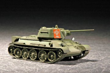 Soviet T-34/76 Model 1943 · TRU 07208 ·  Trumpeter · 1:72