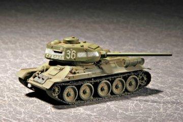 Soviet T-34/85 Model 1944 · TRU 07209 ·  Trumpeter · 1:72