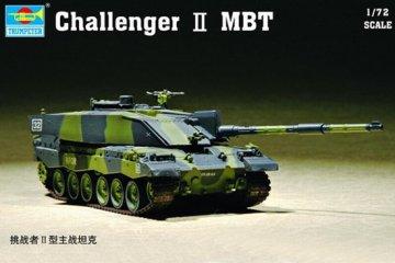 Challenger II MBT · TRU 07214 ·  Trumpeter · 1:72
