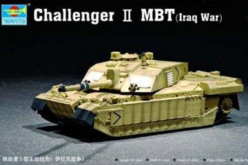 Challenger II MBT (Iraq War) · TRU 07215 ·  Trumpeter · 1:72