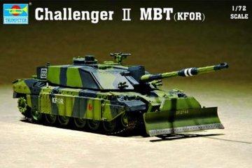Challenger II MBT (KFOR) · TRU 07216 ·  Trumpeter · 1:72