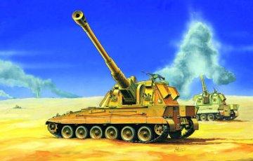 Britisch AS-90 Self-Propelled Howitzer · TRU 07221 ·  Trumpeter · 1:72