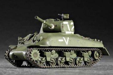 M4A1 (76) W Tank · TRU 07222 ·  Trumpeter · 1:72