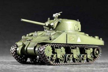 M4 (Mid) Tank · TRU 07223 ·  Trumpeter · 1:72