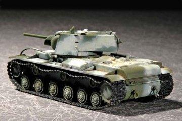 Russian KV-1 M1941 ´´KV Small Turret´´ Tank · TRU 07232 ·  Trumpeter · 1:72