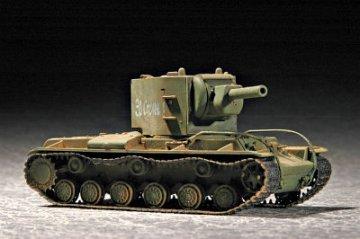 Soviet KV-2 M1940 · TRU 07235 ·  Trumpeter · 1:72