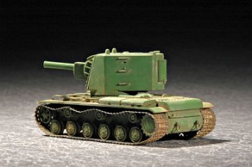 Soviet KV Big Turret · TRU 07236 ·  Trumpeter · 1:72