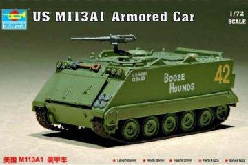 US M 113 A1 Armored Car · TRU 07238 ·  Trumpeter · 1:72