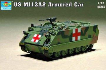 US M113A2 Armored Car · TRU 07239 ·  Trumpeter · 1:72