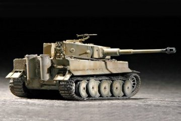 Tiger 1 Tank (Mid.) · TRU 07243 ·  Trumpeter · 1:72