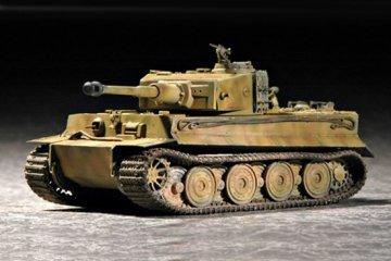 Tiger 1 Tank (Late) · TRU 07244 ·  Trumpeter · 1:72