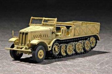 Sd.Kfz. 9 schwerer Zugkraftwagen 18t Type F3 · TRU 07252 ·  Trumpeter · 1:72