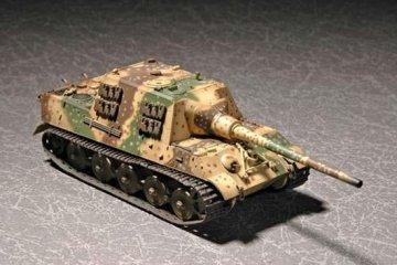 German Sd.kfz.186 Jagdtiger (Henschel production) · TRU 07254 ·  Trumpeter · 1:72