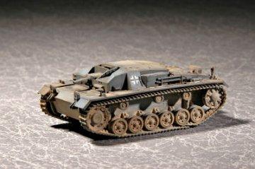 German Sturmgeschütz III Ausf. B · TRU 07256 ·  Trumpeter · 1:72