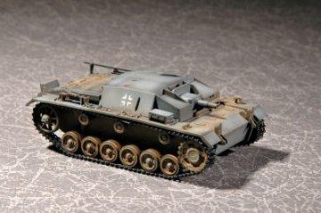 German Sturmgeschütz III Ausf. C/D · TRU 07257 ·  Trumpeter · 1:72
