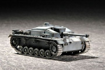 Sturmgeschütz III F · TRU 07259 ·  Trumpeter · 1:72