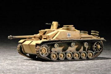 German Sturmgeschütz III · TRU 07260 ·  Trumpeter · 1:72