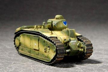 French Char B1Heavy Tank · TRU 07263 ·  Trumpeter · 1:72