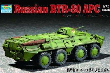 RussianBTR-80 APC · TRU 07267 ·  Trumpeter · 1:72