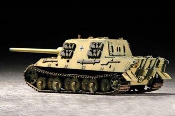 German Sd.Kfz.186 Jagdtiger (Porsche model) · TRU 07273 ·  Trumpeter · 1:72