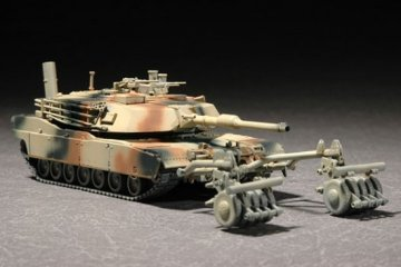 M1A1 with Mine Roller Set · TRU 07278 ·  Trumpeter · 1:72
