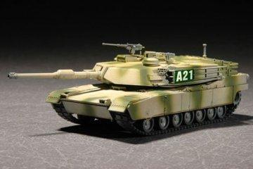 M1A2 Abrams MBT · TRU 07279 ·  Trumpeter · 1:72
