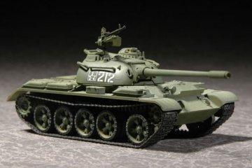 Russian T-54B  Medium Tank · TRU 07281 ·  Trumpeter · 1:72