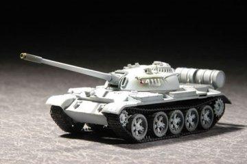 Russian T-55 Medium Tank M1958 · TRU 07282 ·  Trumpeter · 1:72