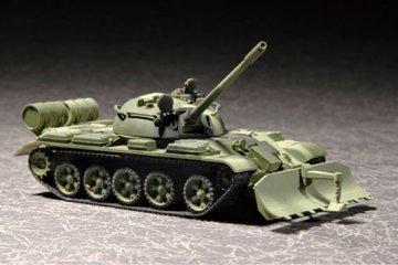 T-55 with BTU-55 · TRU 07284 ·  Trumpeter · 1:72