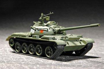 Chinese Type 59 Main Battle Tank · TRU 07285 ·  Trumpeter · 1:72