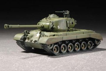 US M26A1 Heavy Tank · TRU 07286 ·  Trumpeter · 1:72