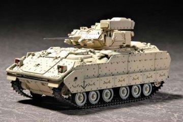 M2A2 Bradley Fighting Vehicle · TRU 07296 ·  Trumpeter · 1:72
