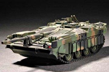 Swedish Strv 103C MBT · TRU 07298 ·  Trumpeter · 1:72