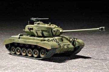 US M26E2 Pershing Heavy Tank · TRU 07299 ·  Trumpeter · 1:72