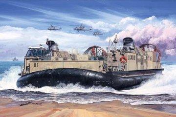 USMC Landing Craft Air Cushion (LCAC) · TRU 07302 ·  Trumpeter · 1:72