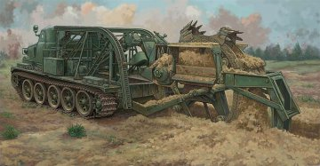 BTM-3 High-Speed Trench Digging Vehicle · TRU 09502 ·  Trumpeter · 1:35