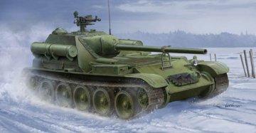Soviet SU-101 SPA · TRU 09505 ·  Trumpeter · 1:35