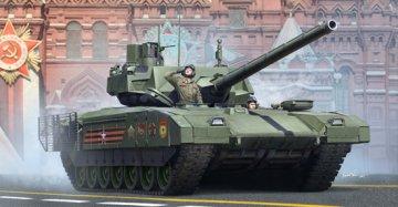 Russian T-14 Armata MBT · TRU 09528 ·  Trumpeter · 1:35