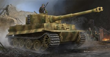 Pz.Kpfw.VI Ausf.E Sd.Kfz.181 Tiger I (Late Production) w/Zimmerit · TRU 09540 ·  Trumpeter · 1:35