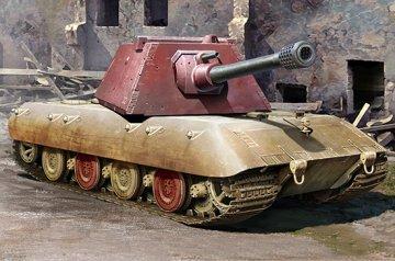 E-100 Heavy Tank -Krupp Turret · TRU 09543 ·  Trumpeter · 1:35