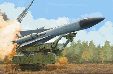 Russian 5V28 of 5P72 Launcher SAM-5 Gammon · TRU 09550 ·  Trumpeter · 1:35