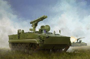 Russian 9P157-2 Khrizantema-S Anti-tank system · TRU 09551 ·  Trumpeter · 1:35