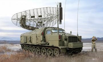 P-40/1S12 Long Track S-band acquisition radar · TRU 09569 ·  Trumpeter · 1:35