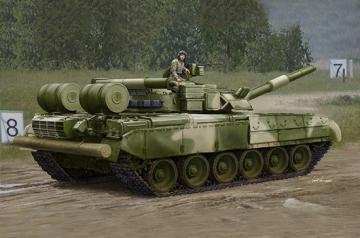 Russian T-80UD MBT - Early · TRU 09581 ·  Trumpeter · 1:35
