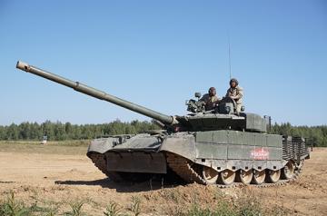 Russian T-80BVM MBT · TRU 09587 ·  Trumpeter · 1:35