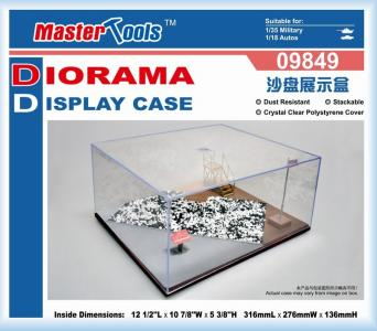 Sand Table Show Case 316x276x136mm · TRU 09849 ·  Trumpeter