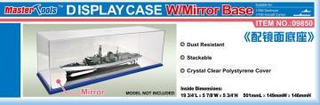 Display Case w/Mirror Base 501x149x146mm WxLxH · TRU 09850 ·  Trumpeter
